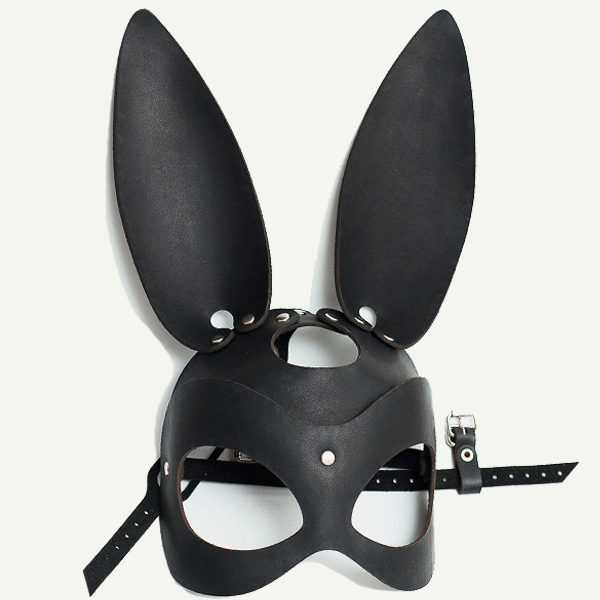 кожаная маска кролика БДСМ